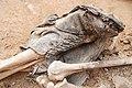 Bota d'un soldat del bàndol nacional a la fossa del Soleràs.jpg