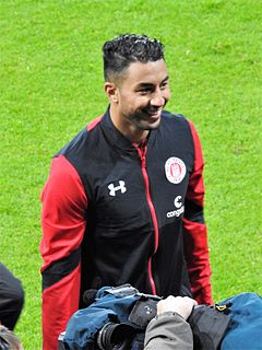 Aziz Bouhaddouz Moroccan footballer