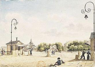 """Boulevard de l'Hôpital - """"Le boulevard de l'Hôpital et l'hôpital de la Salpêtrière à Paris""""; by Christophe Civeton"""