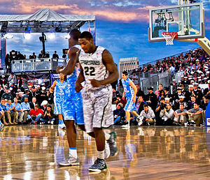 Branden Dawson - Dawson playing for Michigan State in the 2011 Carrier Classic