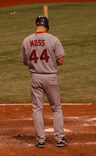 Brandon Moss - Moss during his tenure with the Boston Red Sox in 2007