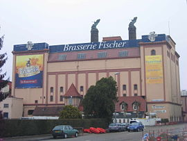 Fischer Brewery south entrance of Schiltigheim