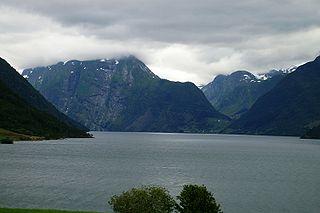 Breim Former municipality in Sogn og Fjordane, Norway