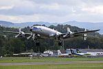 Breitling (Super Constellation Flyers) Lockheed L-1049F Super Constellation HB-RSC (28535819214).jpg