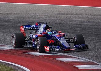 2017 United States Grand Prix - Brendon Hartley made his Formula One debut with Scuderia Toro Rosso.