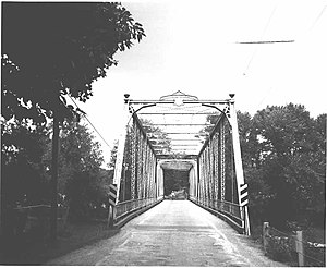 National Register of Historic Places listings in Mercer County, Pennsylvania - Image: Bridge in French Creek Township