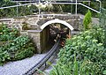 Bridge over the miniature railway, Northcliffe Woods, Shipley - geograph.org.uk - 524823.jpg