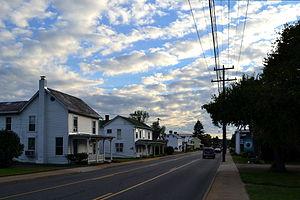 Bridgewater Historic District (Bridgewater, Virginia) - Main Street, Bridgewater VA, September 2013