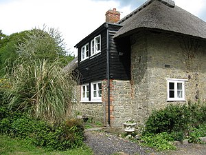 English: Brinkwells Cottage, near Bedham The c...