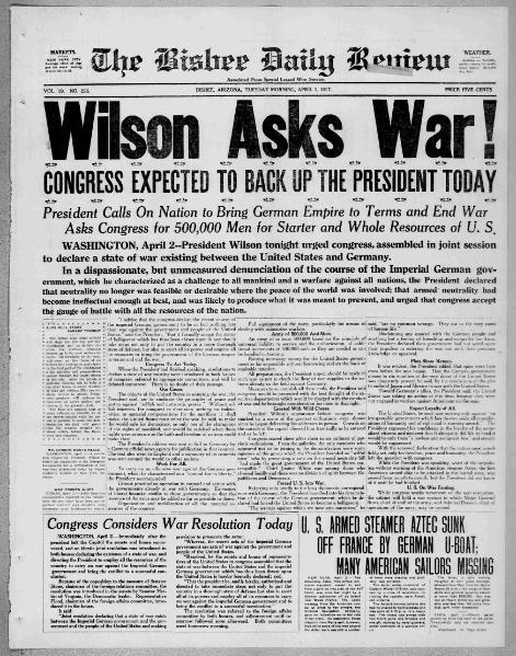 File:Brisbee Daily Review - 03 April 1917.djvu