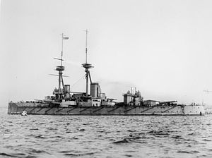 HMS Vanguard (1909) - Image: British Battleships of the First World War Q40389