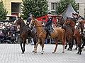 Brno, náměstí Svobody - mezinárodní policejní mistrovství ČR v jízdě na koni - příjezd a defilé soutěžních ekvip obr18.jpg