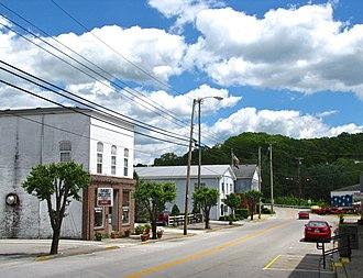 Brodhead, Kentucky - Main Street in Brodhead