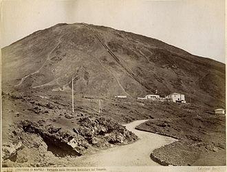 Funiculì, Funiculà - The Mount Vesuvius funicular in the 19th century