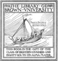 Brown University 1886 bookplate.png