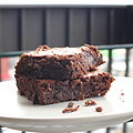 Brownie with crumbs on plate.jpg