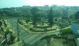 Buôn Hồ Town in Dak Lak, Vietnam