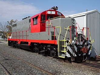 Railroad classes - The Buckingham Branch Railroad is a typical example of a Class III shortline in Virginia