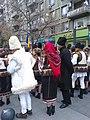 Bucuresti, Romania. 24 Nov. 2018. Bravii nostri Bucovineni. Costume populare bucovinene.jpg