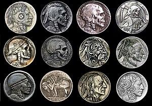 Hobo nickel - Buffalo nickels