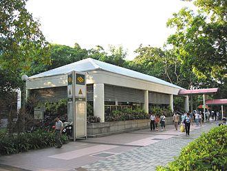 Bugis MRT station - Another exit of Bugis MRT station