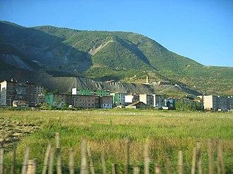 Bulqizë - Bulqiza and its chrome mine