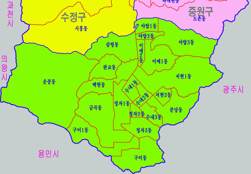 파일:Bundanggu-map.png