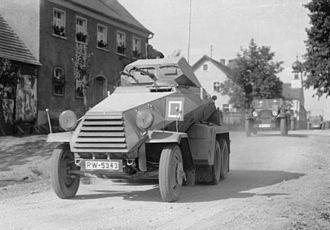 Schwerer Panzerspähwagen - 6 Rad Sd.Kfz. 231