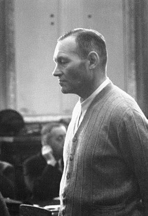 Erich Hoepner - Hoepner at the Volksgerichtshof