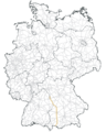 Bundesautobahn 91 Karte.png