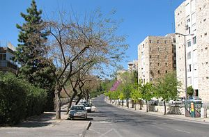 Nayot - Yehuda Burla Street, Nayot