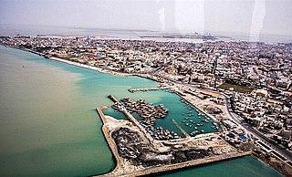 Bushehr City in Iran