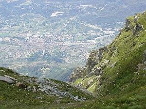 Bussoleno - Image: Bussoleno Da Sopra