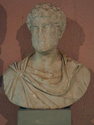 National Archaeological Museum, Tirana - Image: Bust of Marcus Aurelius, from Apollonia, Archaeological Museum of Tirana, Albania