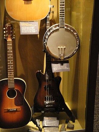 Levin (guitar company) - Goya guitar (left), exhibited at CF Martin Guitar Museum