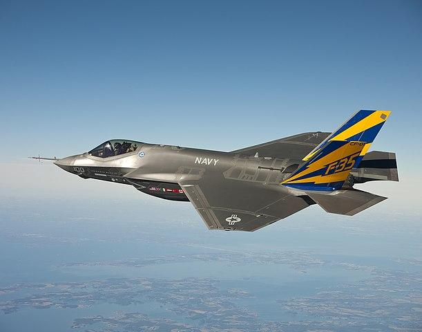F-35C on Test Flight