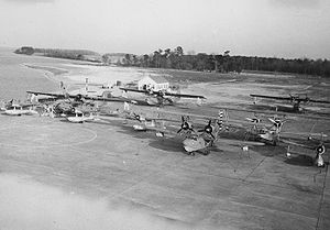 Coast Guard Air Station Elizabeth City - Floatplanes at CGAS Elizabeth City in March 1942.