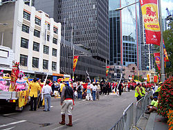 Chinese New Year parade along George Street, Sydney