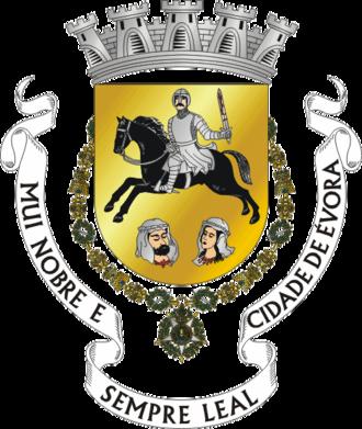 Gerald the Fearless - Image: COA of Évora municipality (Portugal)