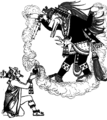 COM V1 D229 Montezuma offering incense to Quetzalcoatl.png