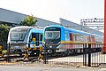 CRT5 and QDM1 trains at CRRC Qingdao Sifang factory (20191003131941).jpg