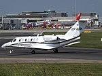 CS-DGW Cessna Citation CJ3 Valair Private Jets (25055095057).jpg