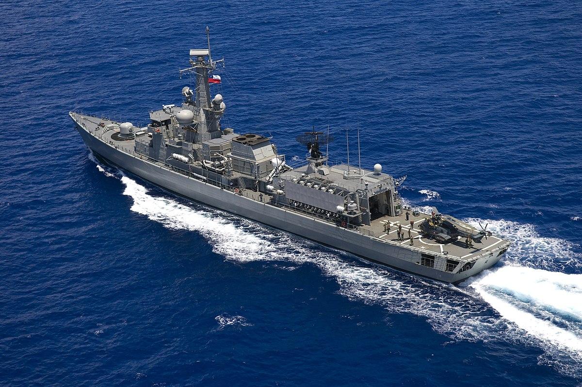 Almirante Riveros (FFG-18) - Wikipedia, la enciclopedia libre