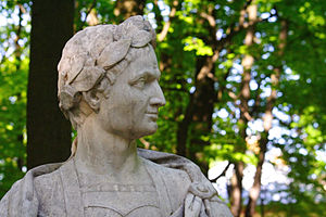 Julius Caesar, Summer garden, Saint-Petersburg