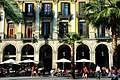 Cafe in Plaza Rejal - Barcelona - panoramio.jpg