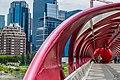 Calgary Peace Bridge with Red Ball.jpg