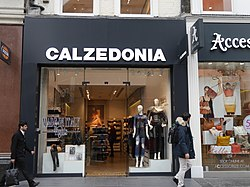 Calzedonia, Oxford Street, London, March 2016 01.jpg