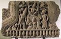 Cambogia, frontone con scena del kumarasambhava, da prea pithu, stile di bayon, 1190-1210 ca. 01.JPG