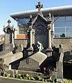 Cambrai - Cimetière de la Porte Notre-Dame, sépulture remarquable n° 57, famille Bricout-Tordeux, tombe remarquable (01).JPG
