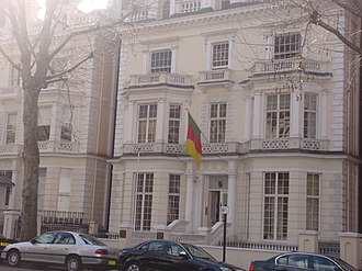 High Commission of Cameroon, London - Image: Cameroon embassy in UK